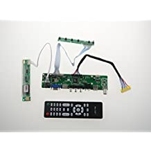 NJYTouch LA.MV9.P HDMI USB AV VGA ATV PC LCD Controller Board LVDS for B154SW01 B154SW01 V.1 B154SW01 V.8 B154SW01 V.9 1680x1050 Panel