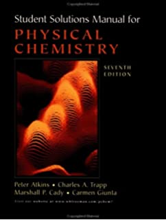 Physical chemistry 7th seventh edition byatkins atkins amazon students solutions manual for physical chemistry seventh edition fandeluxe Image collections