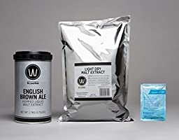 WilliamsWarn Premium English Brown Ale Home Brew Ingredient Kit