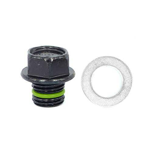 SMART-O R6 Oil Drain Plug M14x1.5mm - Engine oil Pan Protection Plug with Anti-leak & Anti-vibration function - Install Faster, Re-usable and Eco-friendly (04 05 Hyundai Elantra Engine)