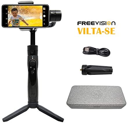Freevision VILTA-SE 3-Axis Stabilized Handheld Gimbal for Smartphone with Tripod stand