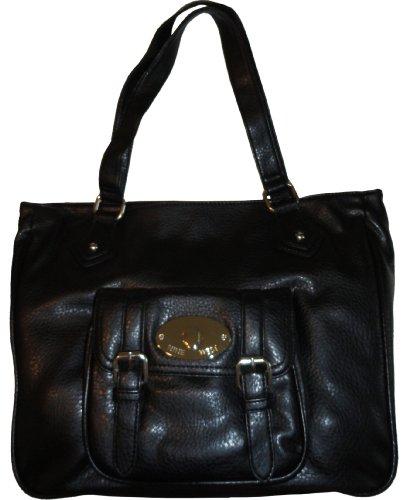 Women's Nine West Purse Handbag Fill Me Up Black
