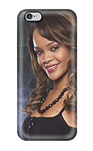 Tpu Shockproof/dirt-proof Rihanna Cover Case For Iphone(6 Plus)