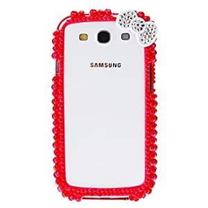 Pearl Pattern Bumper Frame Case with Glue for Samsung Galaxy S4 I9500 --- COLOR:Green