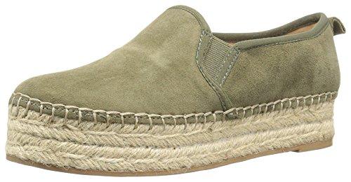 nicekicks online discount tumblr Sam Edelman Women's Carrin Platform Espadrille Slip-on Sneaker Moss Green Suede Kcf6L