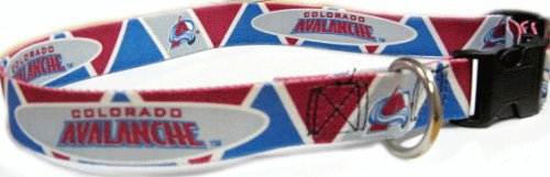 Hunter New! Medium Colorado Avalanche NHL Dog Collar
