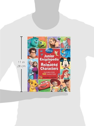 Junior Encyclopedia of Animated Characters by Disney Book Group (Image #3)