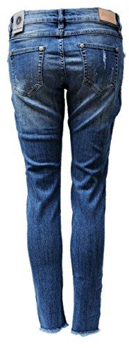 Jeans Jeans Monkey Bleu bleu Femme Skinny Blue nzCPw