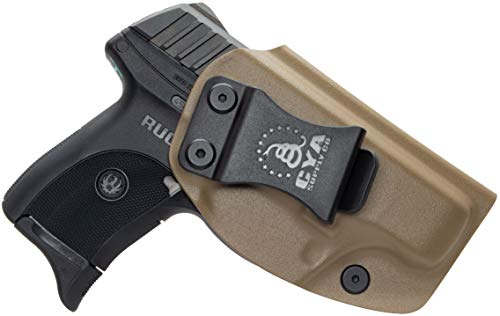 CYA Supply Co. IWB Holster Fits: Ruger LC9 / LC9s / Ruger LC380 / Ruger EC9s- Veteran Owned Company - Made in USA - Inside Waistband Concealed Carry Holster