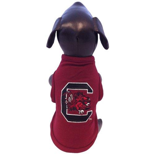 NCAA South Carolina Fighting Gamecocks Cotton Lycra Dog Tank Top, Small