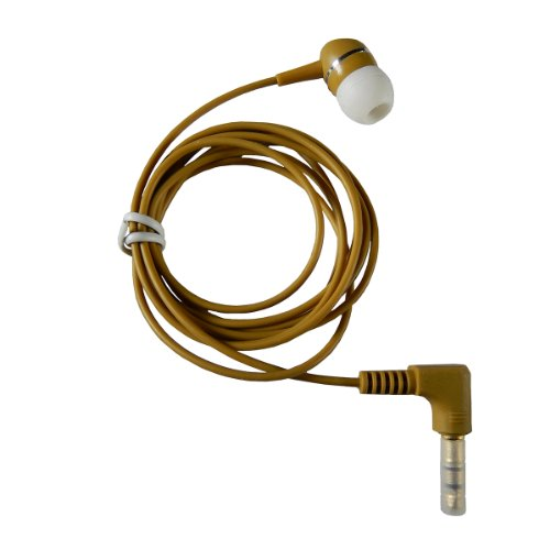 1 BUD B Brown Earphone Heavy Duty Cord product image