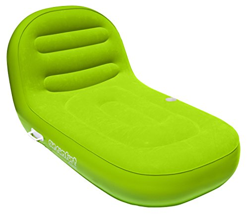 SUN COMFORT COOL SUEDE Chaise Lounge, Lime
