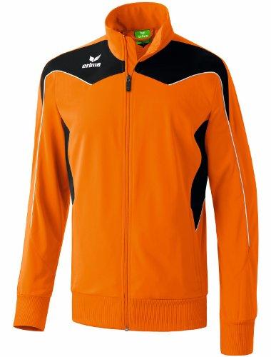 erima Kinder Trainingsjacke Shooter, orange/schwarz/weiß, 152, 307205