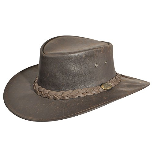 (Jacaru Men Explorer Outback Hat Stonewash M)