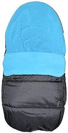 Saco de dormir para asiento de coche, compatible con Kiddy Evo Lunafix, color azul océano
