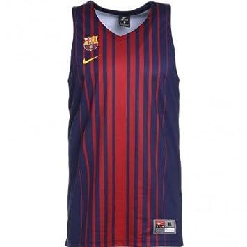 Nike - Camiseta de Baloncesto de Hombre réplica FC Barcelona: Amazon.es: Deportes y aire libre