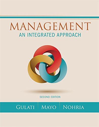 Management: An Integrated Approach
