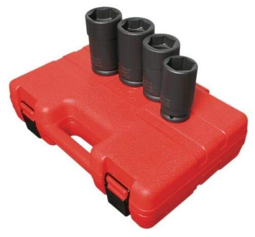 Combination Budd Wheel Impact STD MM Sockets Set 4626 Sunex 4pc 3/4