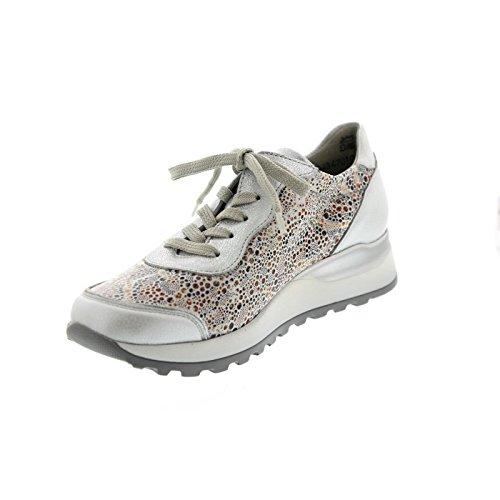 lacets Waldläufer Silber de à Chaussures pour 211 H64001 302 femme ville Tq4wTRf1