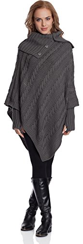 Style N4293 Femme Poncho Merry Graphite qPdvOtOx