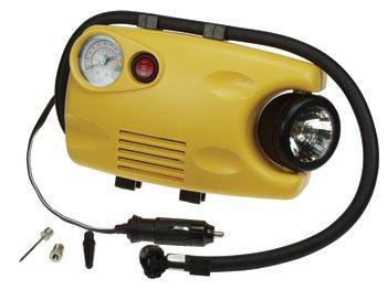Velleman VTAC1 AIR COMPRESSOR (116 psi) WITH GAUGE AND WORK LIGHT by Velleman