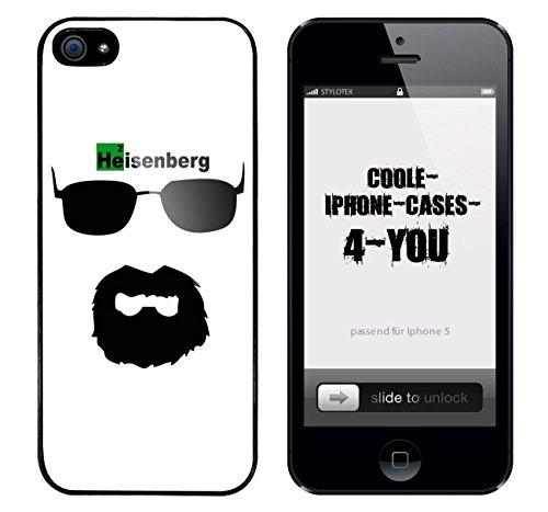 Iphone 5 / 5S Schutzhülle Bad Walter v3 - schwarzer Rahmen