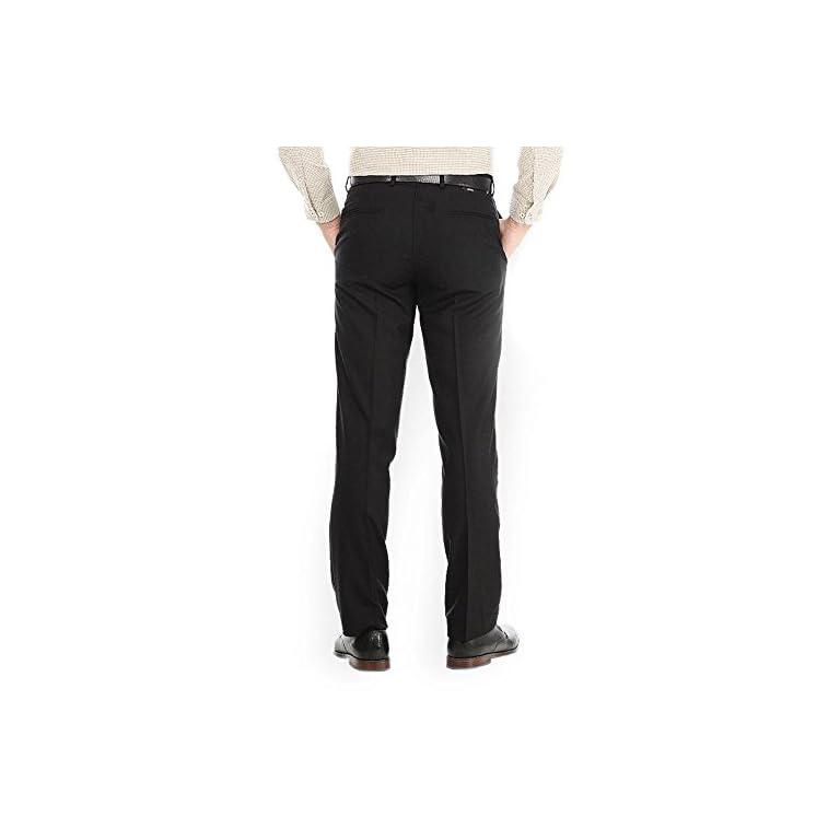 410BDxSEZQL. SS768  - AD & AV Men's Regular Fit Formal Trousers