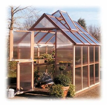 Mt. Hood 6'x8' Sunshine Greenhouse