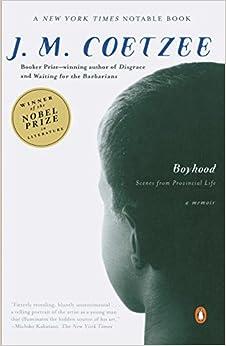 Book Boyhood: Scenes from Provincial Life