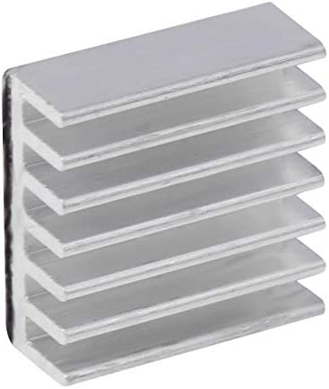 Blue-Ocean-11-14x14x6mm Aluminum Heat Sink Radiator Heatsink for CPU GPU Heat Dissipation assist small memory chip cooling