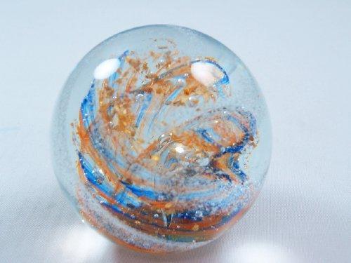 - M Design Art Handcraft Gold Plated Art Glass Paperweight NP-1028 [Kitchen]