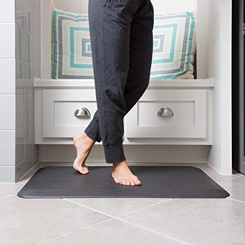 - NewLife by GelPro Anti-Fatigue Designer Comfort Kitchen Floor Mat, 20x32