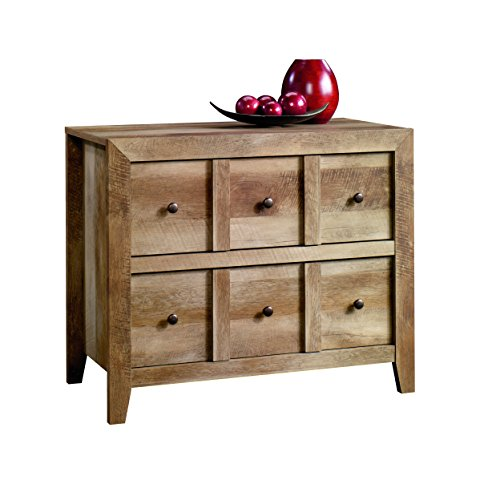 Sauder 418104 Credenza, TV Stand Anywhere Console, Craftsman
