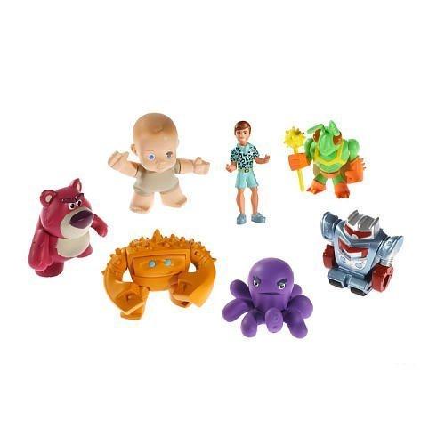 Disney Pixar Toy Story 3 Buddy Figures 7-Pack Lotsos Gang