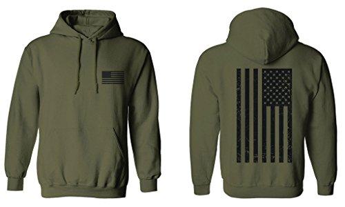Us Flag Mens Hoodie - 9