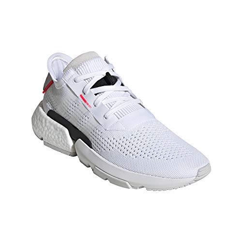 deflessione White Scarpe Grigio ginnastica Adidas 1 da uomo Sneaker Systen per Nero s3 Pod shock Punto E Red di gqYa6