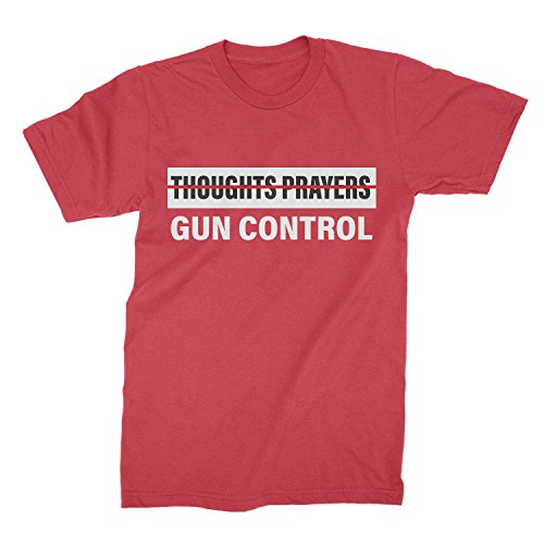Anti NRA Shirt Gun Control Tshirt Gun Control Not Thoughts Prayers