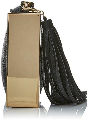 Lola Casademunt Allison - Borse Baguette Donna, Negro (Unico), 4.6x13.2x27.6 cm (W x H L)