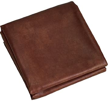 Fitted Heavy Duty Naugahyde Pool Table Cover For 10 Feet Table, Brown