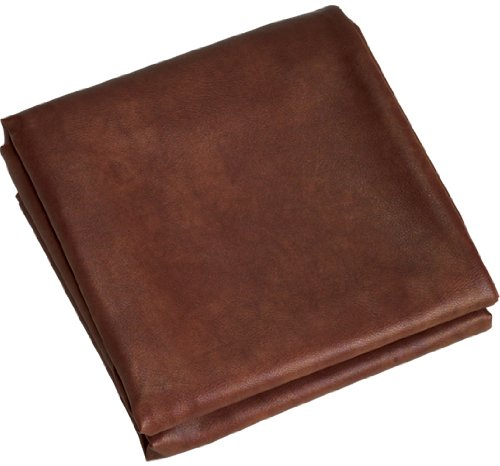 CueStix International Fitted Heavy Duty Naugahyde Pool Table Cover for 8-Feet Table, Brown ()