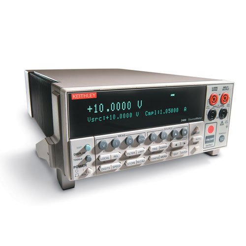 KEITHLEY 2400 SOURCE METER, VOLTAGE/CURRENT, 200V, 1A, 20W by Keithley Instruments, Inc.