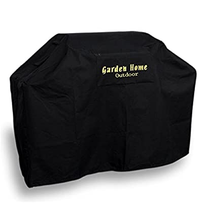 "Garden Home Heavy Duty 52"" Small Grill Cover Weber (Genesis), Holland, Jenn Air, Brinkmann, Char Broil, & More. 3 Year Warranty by Kanma Inc."