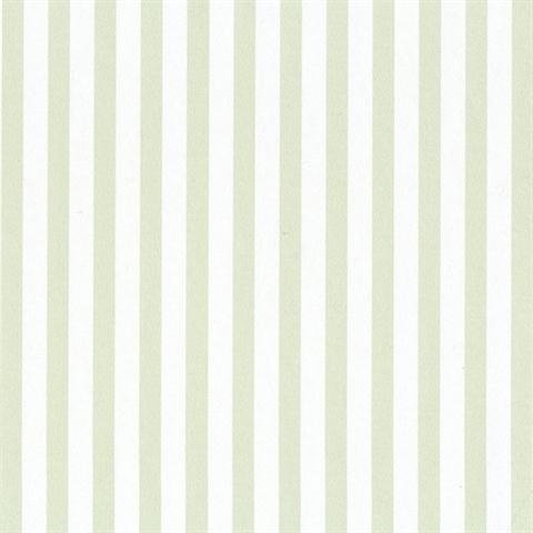 (SY33958 Galerie Stripes 2 green white narrow striped wallpaper)