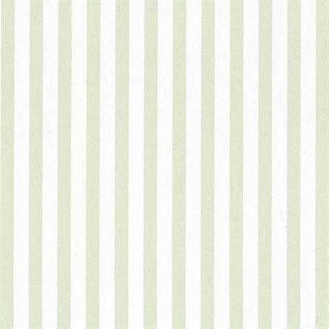 SY33958 Galerie Stripes 2 green white narrow striped wallpaper (Large Scale Stripe Wallpaper)