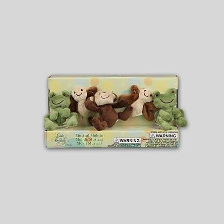 Little Bedding by NoJo Infant's Safari Baby Musical - Craft Mobile Crown