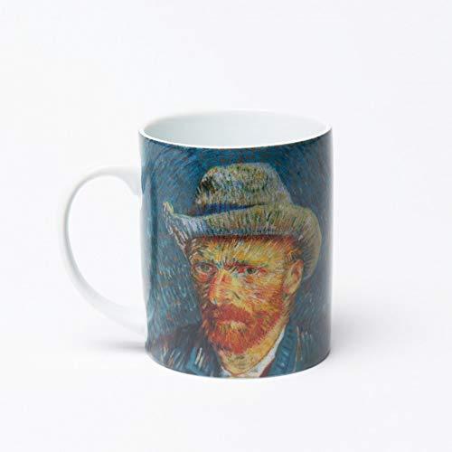 Vincent Van Gogh Mug - Self-Portrait with Grey Felt Hat (Vincent Van Gogh Self Portrait With Felt Hat)
