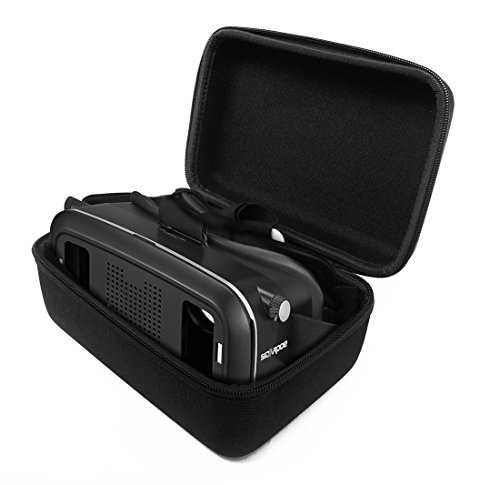 FitSand (TM) Zipper Travel Portable Protective Carrying Hard Case Cover Bag for SIDARDOE 3D VR Virtual Reality Headset Glasses