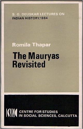 Thapar Mauryas cover art