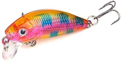 Wobblers Deep Diving Crankbait Bass Tackle Hard Plastic Bait Fishing Lures