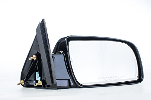 Dependable Direct Right Passenger Side Unpainted Non-Heated Folding Door Mirror for 88-99 Chevy/GMC C/K 1500 2500, 92-99 Suburban, Yukon